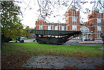 TQ7668 : Military machinery, Royal Engineers Museum, Prince Arthur Rd by N Chadwick