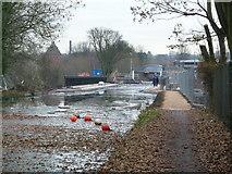 SP0483 : Worcester & Birmingham canal - new aqueduct by Chris Allen