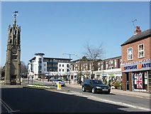SP2871 : The Square and the Clock Tower, Kenilworth by John Brightley
