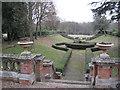 SP1774 : South garden, Parkfield, Dorridge B93 by Robin Stott