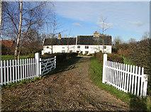 TM3369 : Manor House, Peasenhall, Suffolk by Adrian S Pye