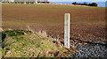 J4868 : Gatepost near Comber by Albert Bridge