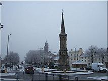 SP4540 : Banbury Cross and The Horsefair, Banbury by Richard Humphrey