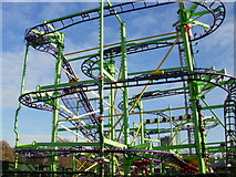 TQ2780 : Fun ride at Winter Wonderland in Hyde Park by Peter S