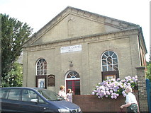 TM2850 : Melton Chapel in The Street by Basher Eyre