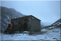 NH9503 : Sinclair Memorial Hut in 1981 by Jim Barton