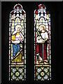 SW4538 : Window in Zennor Church by Philip Halling