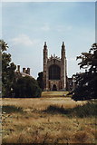 TL4458 : King's College chapel, Cambridge by nick macneill