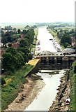 TF3244 : River Witham from the 'Boston Stump' by nick macneill