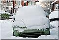 J3774 : Snow Beetle, Belfast by Albert Bridge