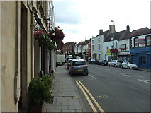 ST5777 : Westbury on Trym - the High Street looking south. by C P Smith