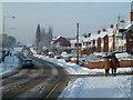 SO8755 : Newtown Road, Worcester by Chris Allen