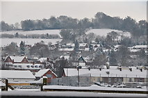 SS9612 : Tiverton : Snowy Tiverton Scene by Lewis Clarke