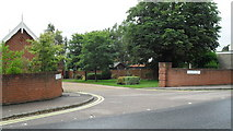 TM3877 : Junction of Benton Way and Wissett Road by Basher Eyre