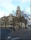 SU6400 : Winter trees in Guildhall Square by Basher Eyre