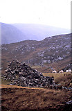 NC7665 : Poulouriscaig - an abandoned township by Evelyn Simak