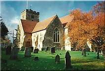 TQ4655 : Brasted Church by Roger Smith