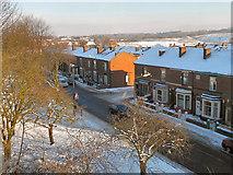 SD7807 : Church Street West/Glebe Street, Radcliffe by David Dixon
