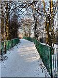 SD7807 : Footpath, Coney Green by David Dixon