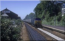 SW6439 : This train dont stop Camborne by roger geach