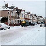 ST3186 : North side of Milman Street, Newport by Jaggery