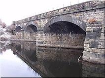 SE2119 : Railway Bridge over the River Calder by Nigel Homer