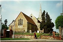 TQ6757 : St. Mary's Church, West Malling by Roger Smith