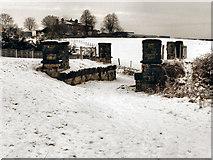 SD7807 : Former Railway Bridge by David Dixon