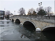 TL0549 : Bedford Town Bridge over the River Ouse by PAUL FARMER