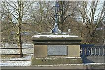 TL4559 : Victoria Bridge Commemorative plaque (1) by Alan Murray-Rust