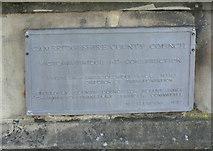 TL4559 : Victoria Bridge Commemorative plaque (2) by Alan Murray-Rust