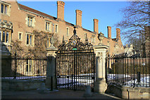 TL4458 : Magdalene College Gates by Alan Murray-Rust