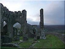 SO2827 : Llanthony Priory by Chris Gunns