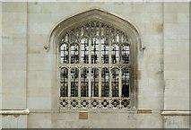 TL4458 : King's College window by Alan Murray-Rust