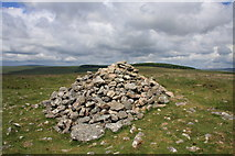 SX6781 : Cairn on Water Hill by Guy Wareham