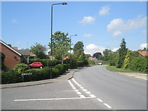 TM2850 : Junction of The Debenside and Station Road by Basher Eyre