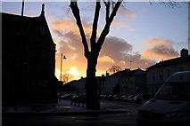 SK3436 : Vernon Street from Friar Gate, Derby by Robin Turner