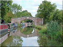 SO9262 : Approaching Coffin Bridge near Hadzor, Worcestershire by Roger  Kidd