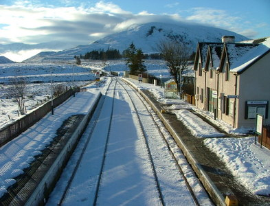 NH1658 : The Kyle line at Achnasheen by Dave Fergusson