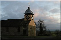 SO4465 : St Michael's Church, Croft by Christopher Hilton