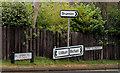 J3066 : Road signs, Drumbeg by Albert Bridge