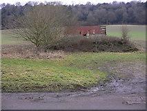 SU7328 : Dilapidated barn near Oakshott by Shazz