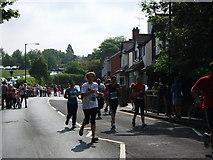 SP2871 : The Two Castles Run 2010 in Borrowell Lane, Kenilworth  by John Brightley