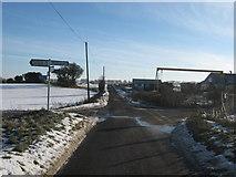 TR2648 : Crossroads near Norton Timber by David Anstiss
