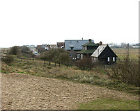 TM5075 : Cottages in Ferry Road, Southwold by Evelyn Simak