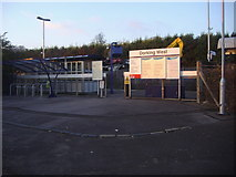 TQ1649 : Dorking West station approach by David Howard