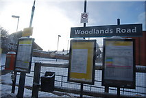 SD8401 : Woodlands Road Station by N Chadwick