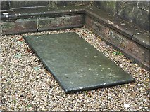 NS3975 : The gravestone of John Brown by Lairich Rig