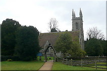 SU7037 : Chawton House church by Graham Horn