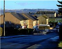 NS3373 : Bardrainney shops by Thomas Nugent